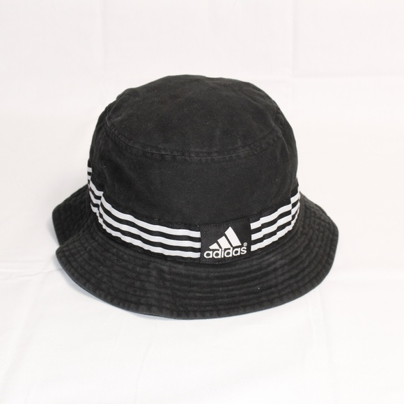 6c97a26267c adidas Other - Vintage 90 s ADIDAS 3 Stripe Bucket Hat - Rare